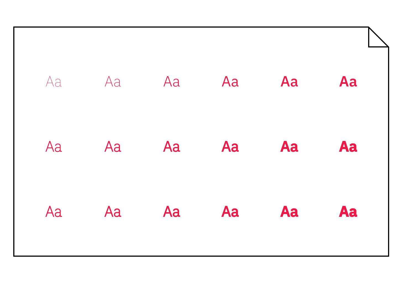 Font variabile
